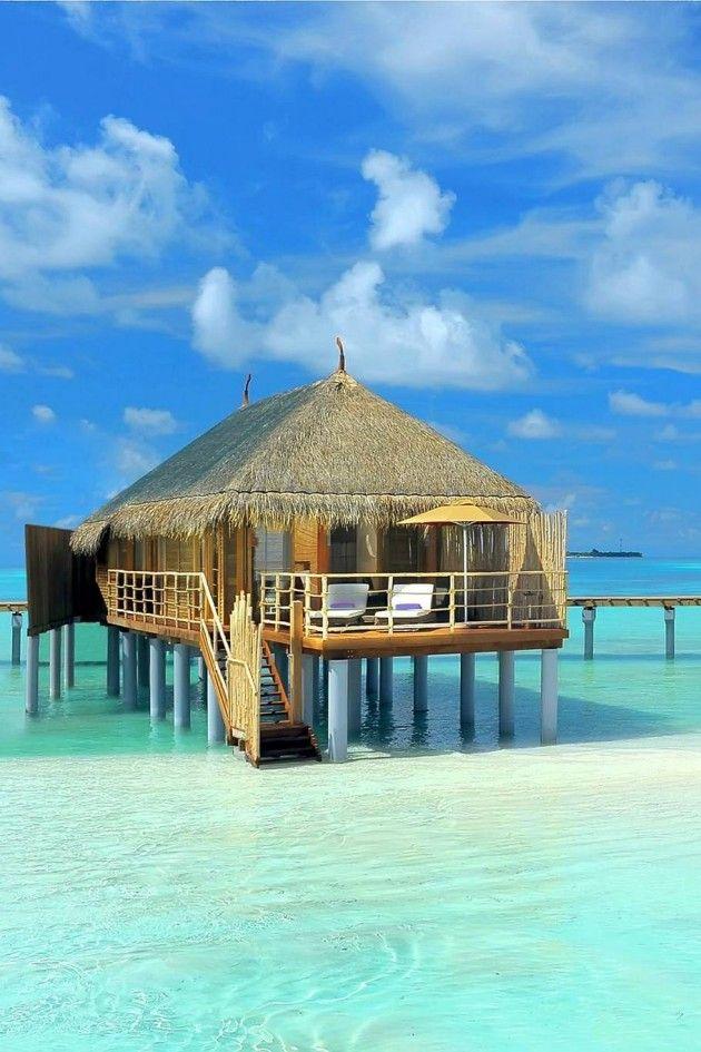 1000 ideas about overwater bungalows on pinterest bora for Bungalows flotantes en bora bora