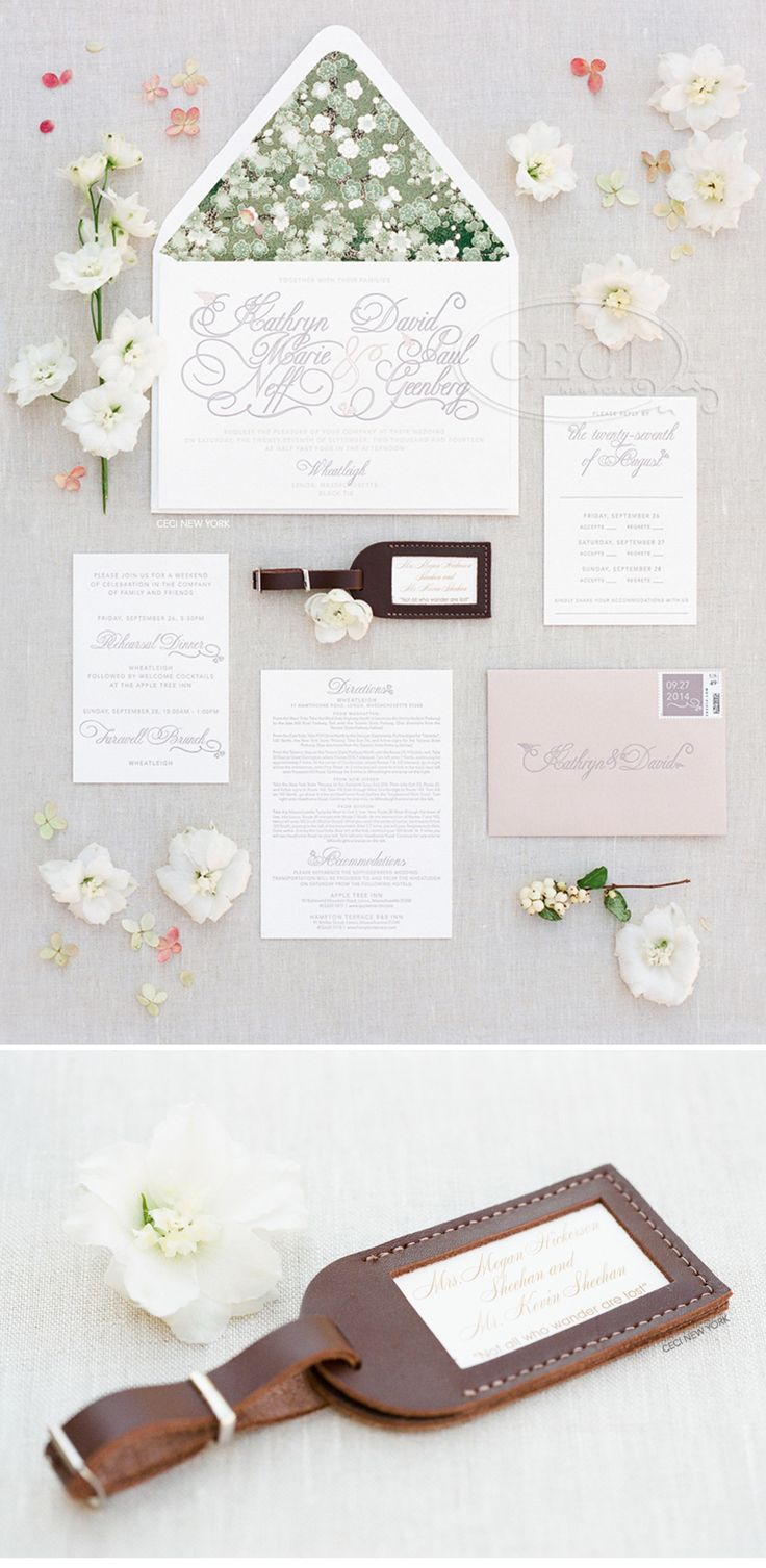 236 best Wedding Invitations images on Pinterest
