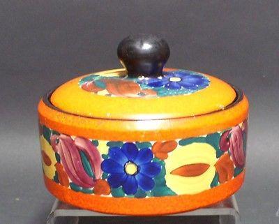 Ručně malované Umělecká keramika České Kryté Bowl Mrazck PAI Rolnická umění Lidové umění