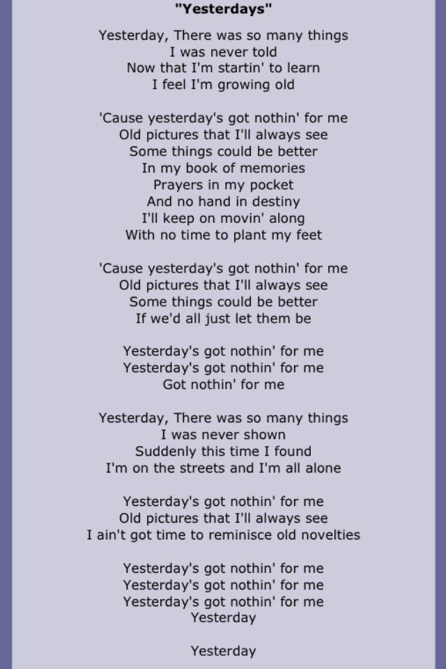 beatles lyrics yesterday - 640×960