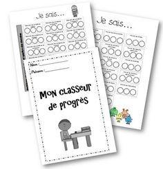 Classeur de progrès d'Emilie - évaluation positive auto-gérée - La classe de Mallory