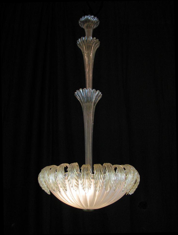 lampadario veneziano : Lampadario Veneziano - Epoca: 1950 circa