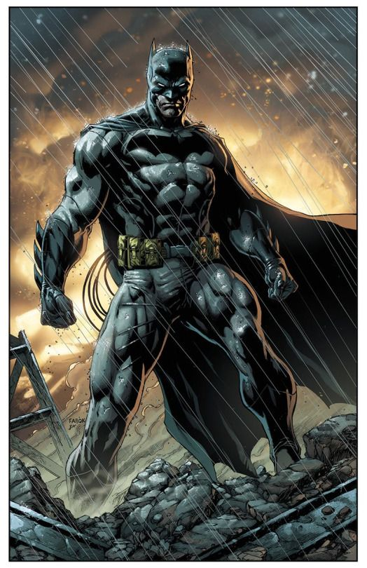 Batman by Jason Fabok and Brad Anderson
