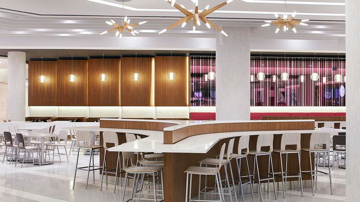 Rideau Centre Dining Hall - GHA Design | Retail Design