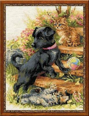 """Counted Cross Stitch Kit RIOLIS - """"On the Holiday"""""""