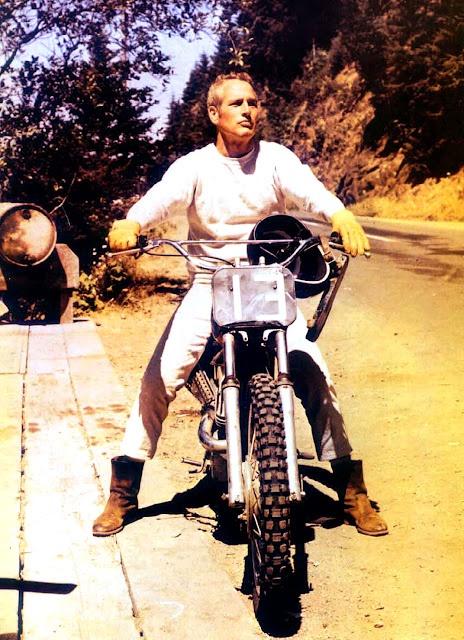 Paul Newman + dirt bike + Red Wing 8189 boots
