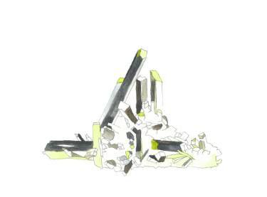 "Saatchi Art Artist Hanna Gro; Painting, ""AEGIRINE - mineral watercolor"" #art"