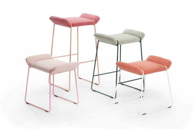 FRANKIE stools / JOHANSON DESIGN - FÄRG BLANCHE