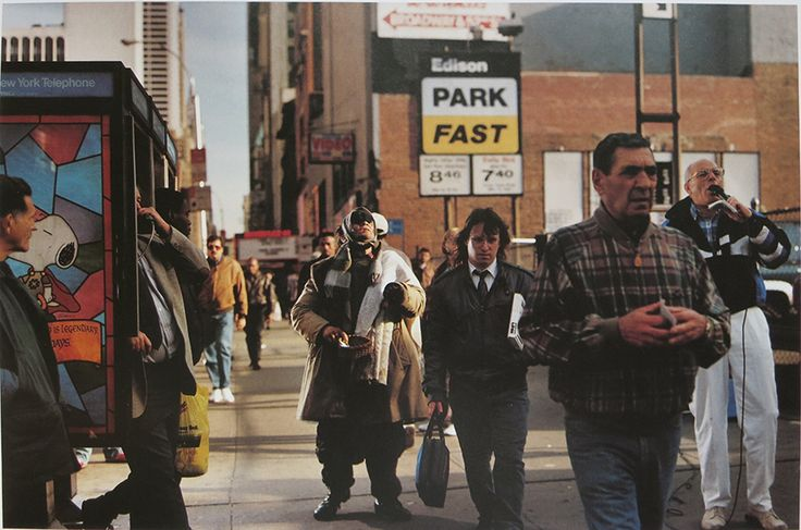 New York, 1993 by Philip-Lorca diCorcia, from 'streetwork'.