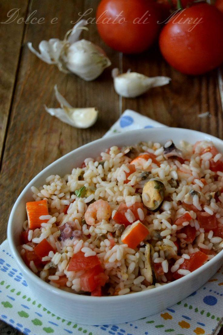 ricetta insalata di riso alla marinara| Dolce e Salato di Miky