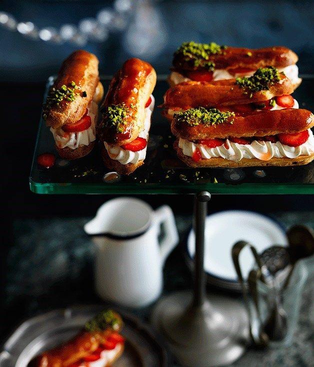 Four recipes for eclairs