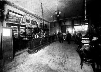 Saloon in Deadwood, South Dakota 1800's