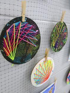 Cassie Stephens: In the Art Room: Art Show 2017, 2-D Displays