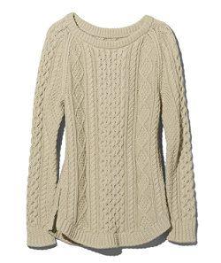 #LLBean: Signature Cotton Fisherman Tunic Sweater