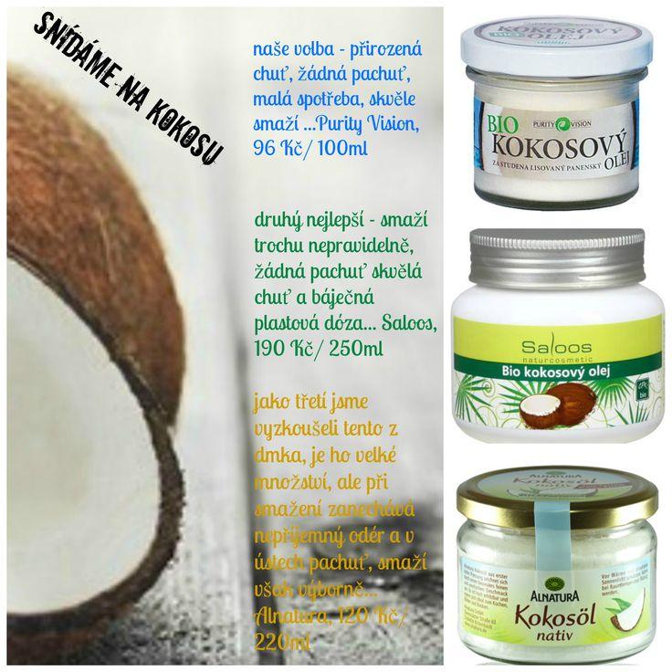 Kokosový olej a banánové lívance   které jsou jaké:)