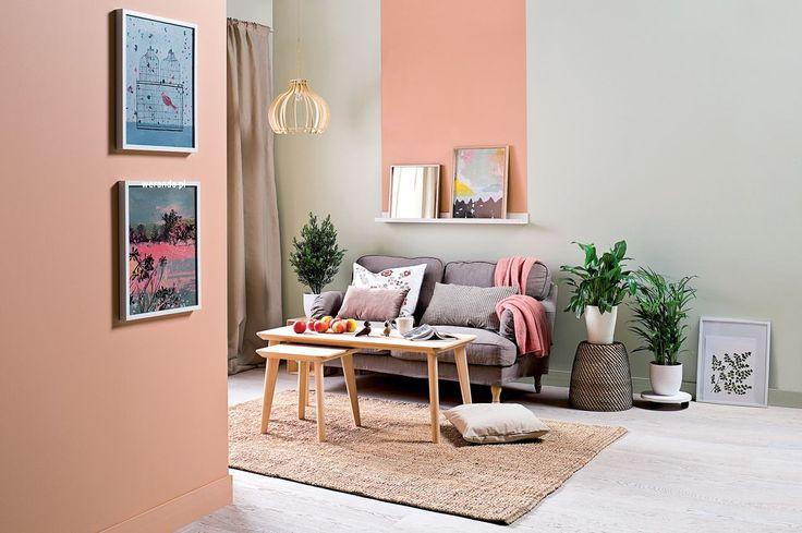 Kolor we wnętrzu // modne kolory ścian // fot. mat.prasowe: http://www.weranda.pl/urzadzamy/sciany/kolory-scian-w-pokoju-sypialni-kuchni-jak-je-dobierac #design #home #colors #walls #inspirations #wall #interriors #ideas #happy #chair #furniture #sofa #pink #beige #white #kolory #ściany #farba #meble #kolorowe #inspiracje #kolor #malowanie #wnętrza #mieszkanie #remont #inspiracje #pomysły #kanapa #salon #pokój #dom #kolorystyka #porady #diy #brzoskwiniowy #różowy #beżowy #biały