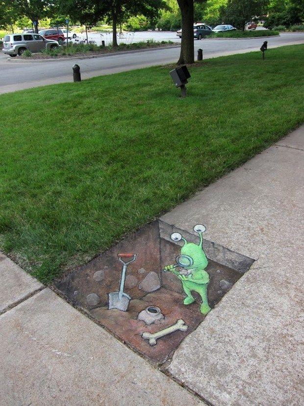 By David Zinn in Michigan, USA