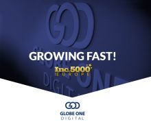 #GlobeOneDigital ranks 81st among 5000 fastest growing companies in Europe