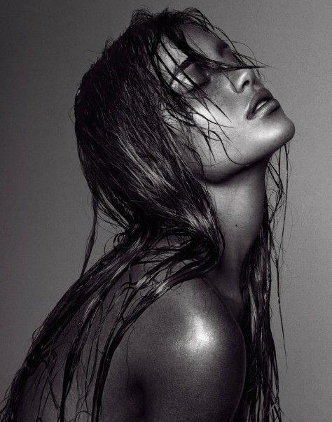 model | wet hair | beautiful | shoot | editorial | amazing | stunning | black & white | photography | www.republicofyou.com.au
