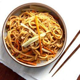 Cold Spicy Sesame Noodles