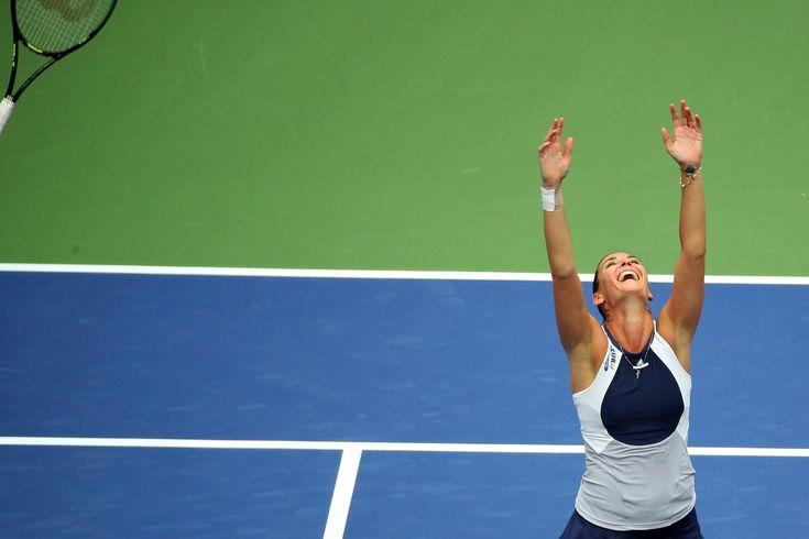 Flavia Pennetta Wins U.S. Open Final - The New York Times