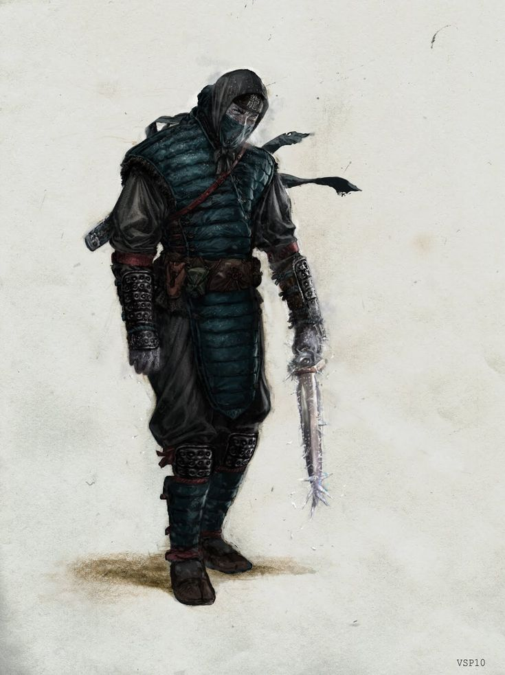Shang Tsung disguised as Sub - Zero - Vincent Proce's Mortal Kombat Redesigns