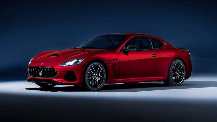Nuevo lavado de cara para el Maserati GranTurismo