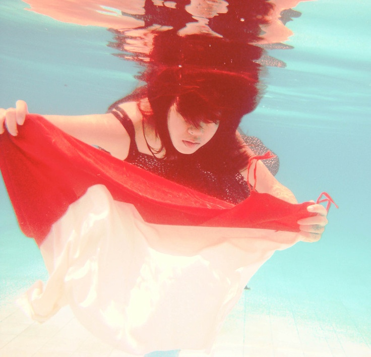in the water whenever I fly the red and white Indonesia