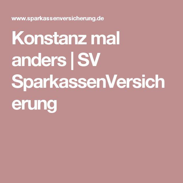 Konstanz mal anders | SV SparkassenVersicherung