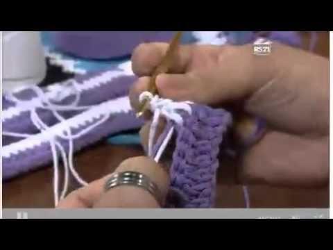 As Receitas de Crochê: Tabela de Contagem de pontos para trabalhos em crochê Filê e ponto de crochê conduzido