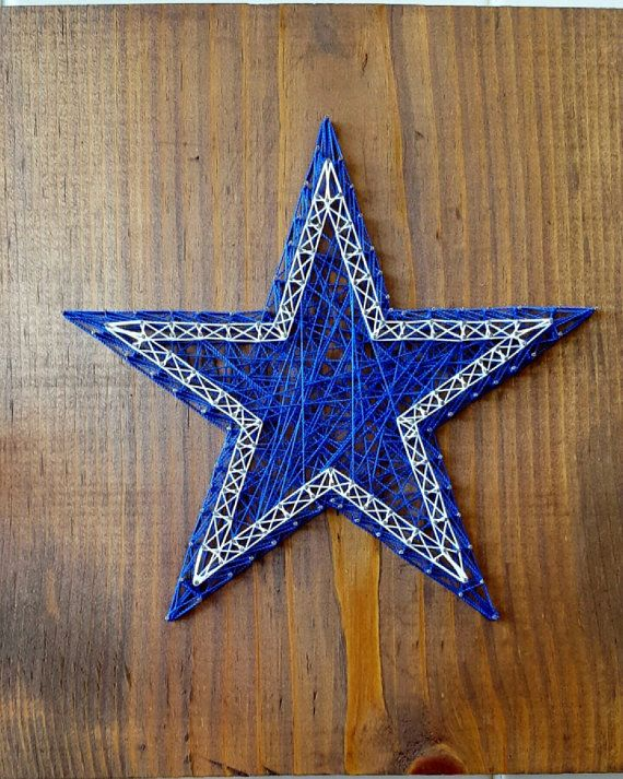 Check out this item in my Etsy shop https://www.etsy.com/listing/475343163/dallas-cowboys-string-art