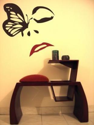Mesa para telefono art deko