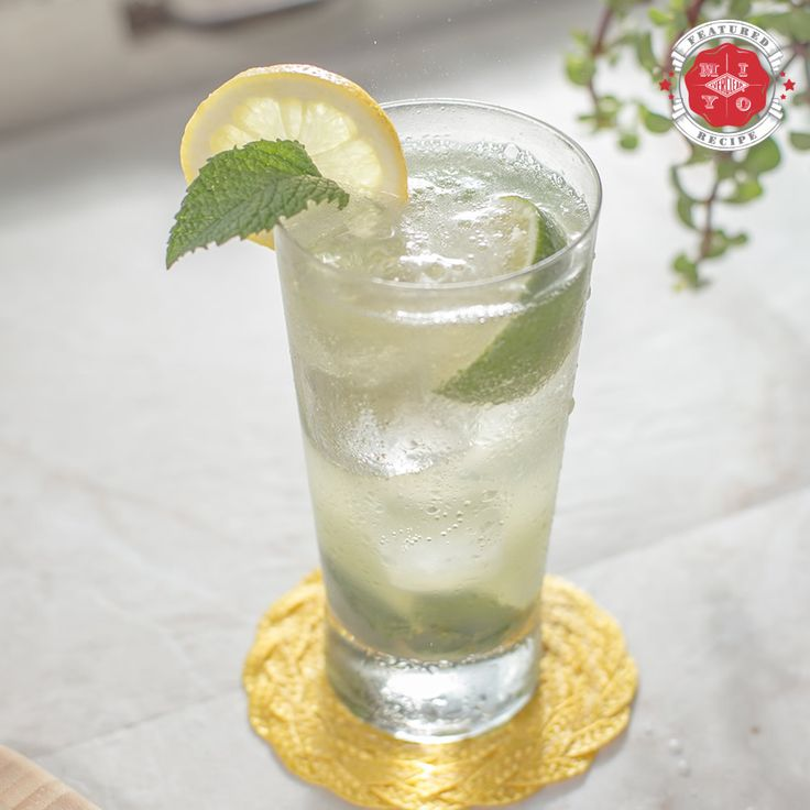 Make It Your Own by Everclear® | Sparkling Limoncello Mojito