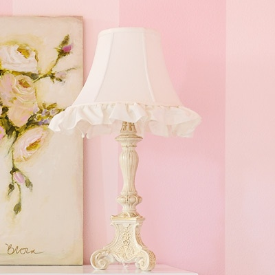 17 best diy lamp shadelamps images on pinterest lamp shades sweet girly lamp audiocablefo