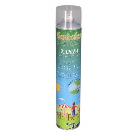 Zanza Party - Insetticida effetto abbattente con spray jet