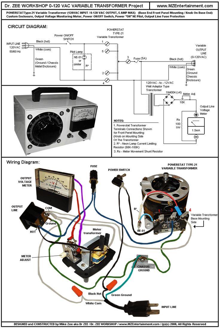 Variac Wiring Diagram Wiring Diagrams Schematics - Gibson wiring diagrams