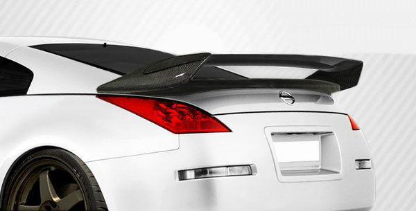 Carbon Creations 03 08 Nissan 350z N 2 Wing Trunk Lid Spoiler Kit Nissan 350z Nissan Carbon Fiber Spoiler