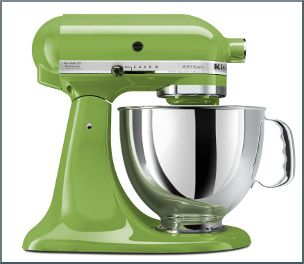 Kitchenaid Artisan Design Series 5-qt. Stand Mixer Review    KitchenAid KSM150PSGA Artisan Series 5-Quart Stand Mixer, Green Apple  The Kitchenaid Artisan Design Series 5-qt. Stand Mixer is a top notch mixer from KitchenAid. It has everything from the wire whip to the flat beater. Mixing up cookie dough and any type of dough is much easier using this... Published at KitchenOCity Reviews Online : http://kitchenocity.com/kitchenaid-artisan-design-series-5-qt-stand-mixer-revie