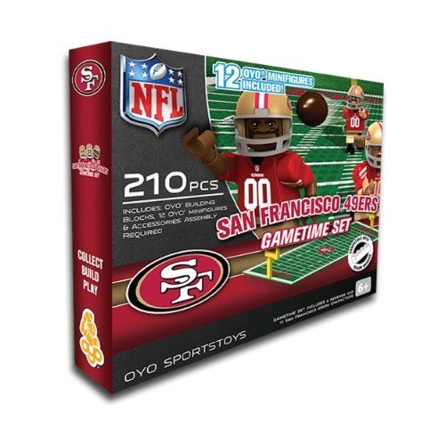 NFL San Francisco 49ers Game Time Set by OYO. NFL San Francisco 49ers Game Time Set.