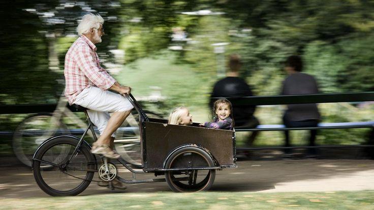 Christiania bike with children
