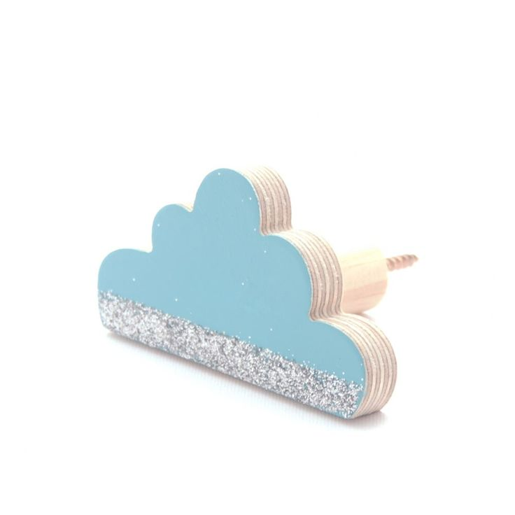 Silver Lining Cloud Wall hook | Classic | Wall Hooks | The Wall Collective