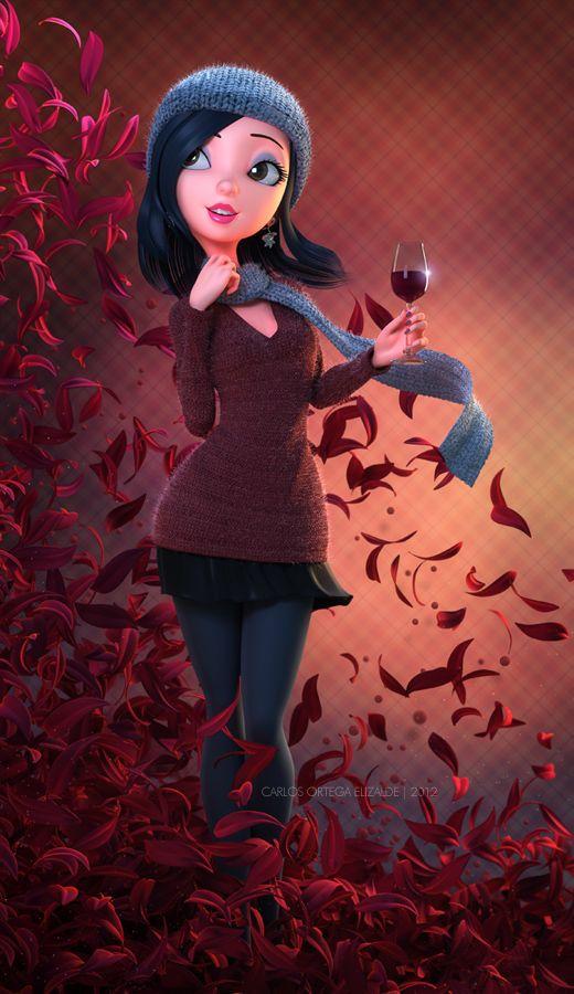 Cheers - Modelado 3D de Carlos Ortega Elizalde