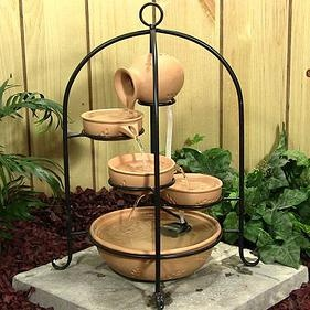 1000 ideas about outdoor water fountains on pinterest for Accessoires decoration jardin