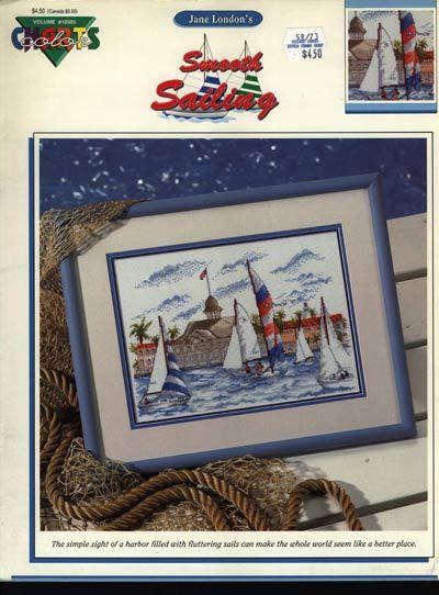 Smooth Sailing Cross Stitch Leaflet