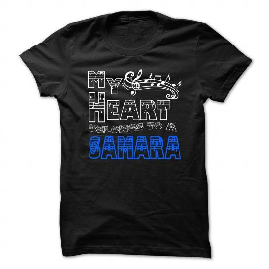 My Heart Belongs to Samara - Cool T-Shirt !!! #name #tshirts #SAMARA #gift #ideas #Popular #Everything #Videos #Shop #Animals #pets #Architecture #Art #Cars #motorcycles #Celebrities #DIY #crafts #Design #Education #Entertainment #Food #drink #Gardening #Geek #Hair #beauty #Health #fitness #History #Holidays #events #Home decor #Humor #Illustrations #posters #Kids #parenting #Men #Outdoors #Photography #Products #Quotes #Science #nature #Sports #Tattoos #Technology #Travel #Weddings #Women