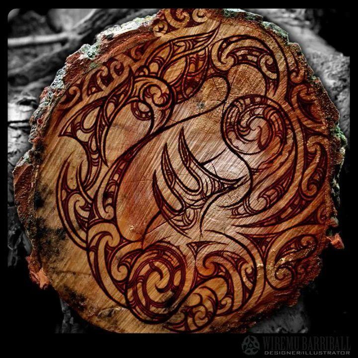 maori tattoo style manaia wood burn maori art pinterest woods tattoos and body art and. Black Bedroom Furniture Sets. Home Design Ideas