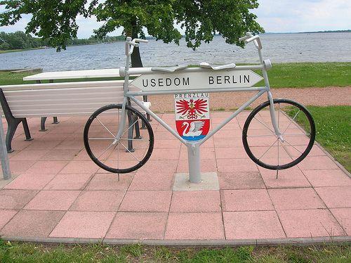 Zwischenstopp Prenzlau auf dem Usedom-Berlin-Radweg