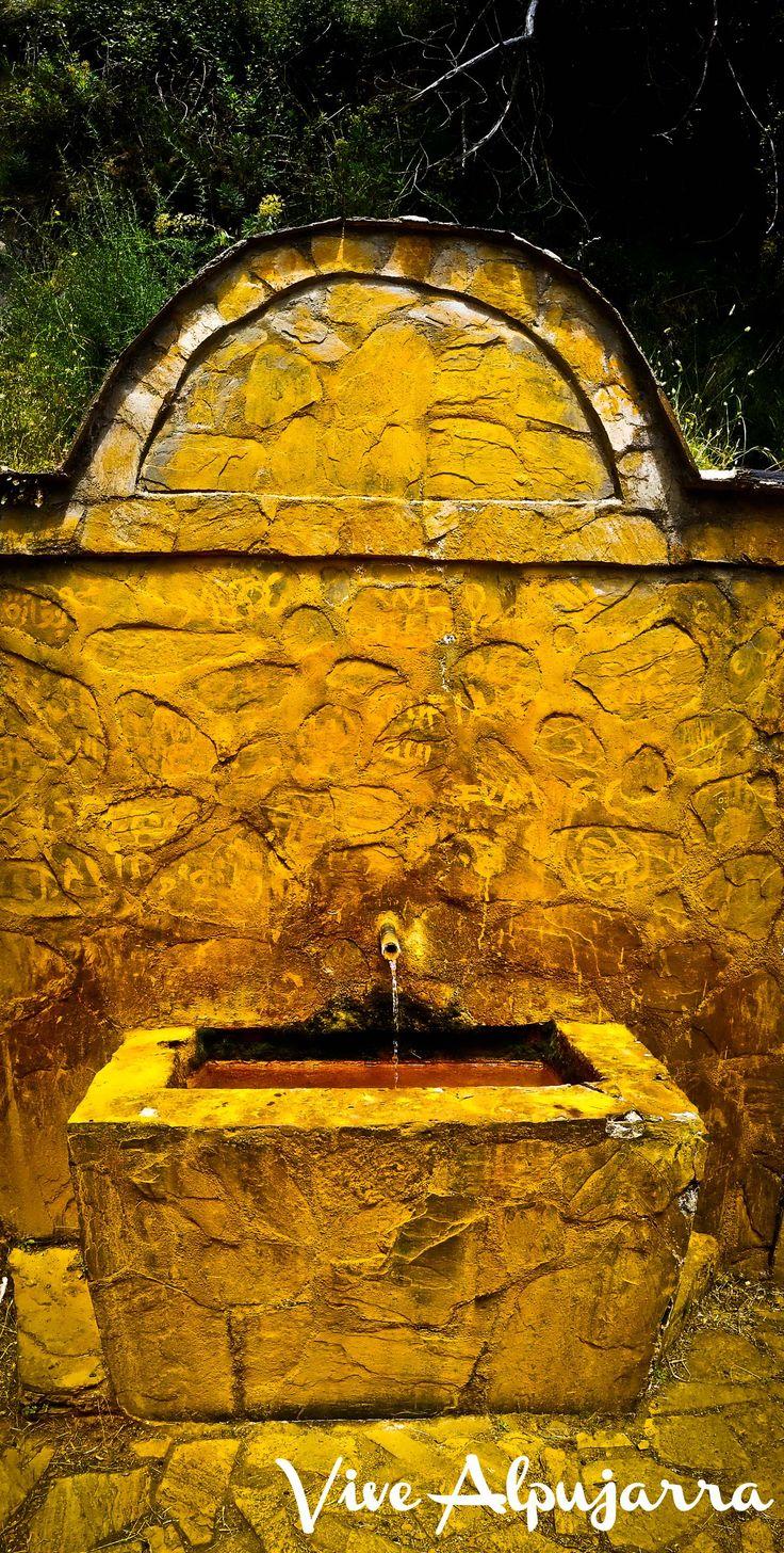 Fuente Agria de Bérchules.  Conoce más sobre esta comarca:  www.facebook.com/Vive.Alpujarra