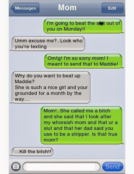 funny texts from parents #RePin by AT Social Media Marketing - Pinterest Marketing Specialists ATSocialMedia.co.uk