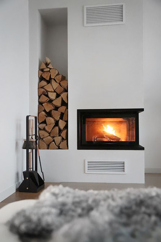 Contura i40 in the home of Swedish Trendenser interior blog